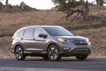 Picture of a 2016 Honda CR-V Touring in Modern Steel Metallic from a front right three-quarter perspective