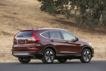 2016 Honda CR-V Touring AWD in Basque Red Pearl II - Static Rear Right Three-quarter View