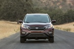 Picture of a 2016 Honda CR-V Touring AWD in Basque Red Pearl II from a frontal perspective