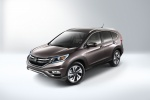 2016 Honda CR-V Touring in Modern Steel Metallic - Static Front Left Three-quarter Top View