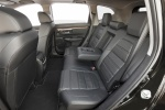 Picture of a 2017 Honda CR-V Touring AWD's Rear Seats with Center Armrest