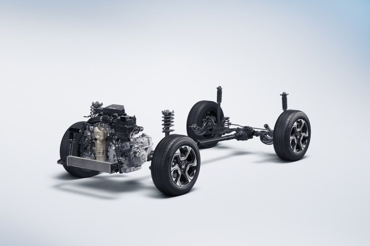 2018 Honda CR-V Touring AWD Drivetrain Picture