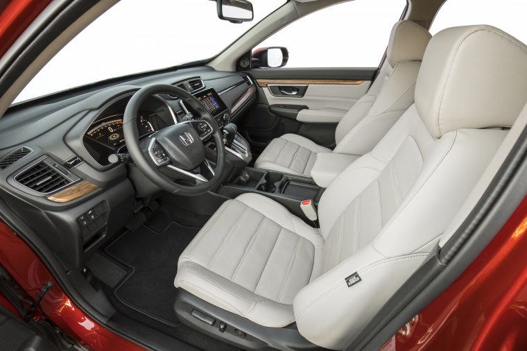 2018 Honda CR-V Touring AWD Front Seats Picture