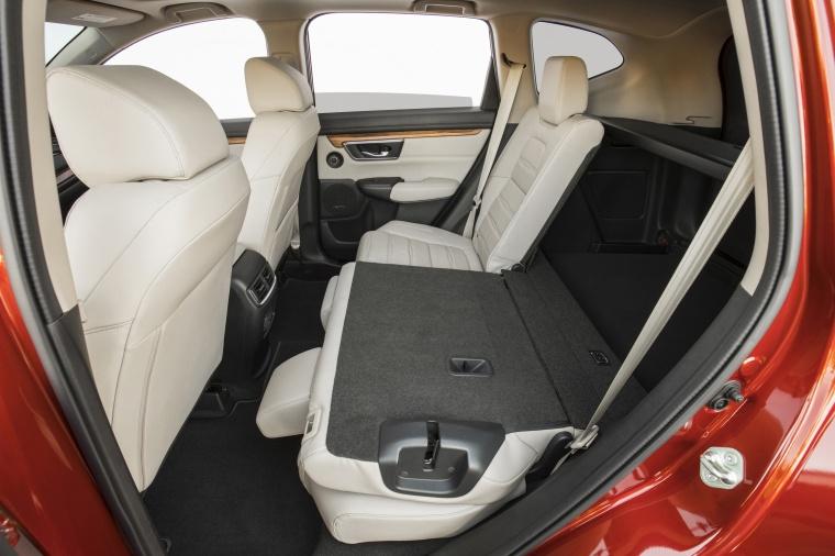 2018 Honda CR-V Touring AWD Rear Seats Folded Picture