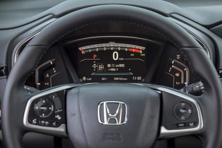 2018 Honda CR-V Touring AWD Gauges Picture