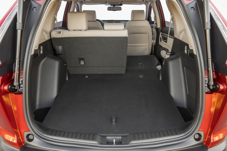 2018 Honda CR-V Touring AWD Trunk with Rear Seat Folded Picture