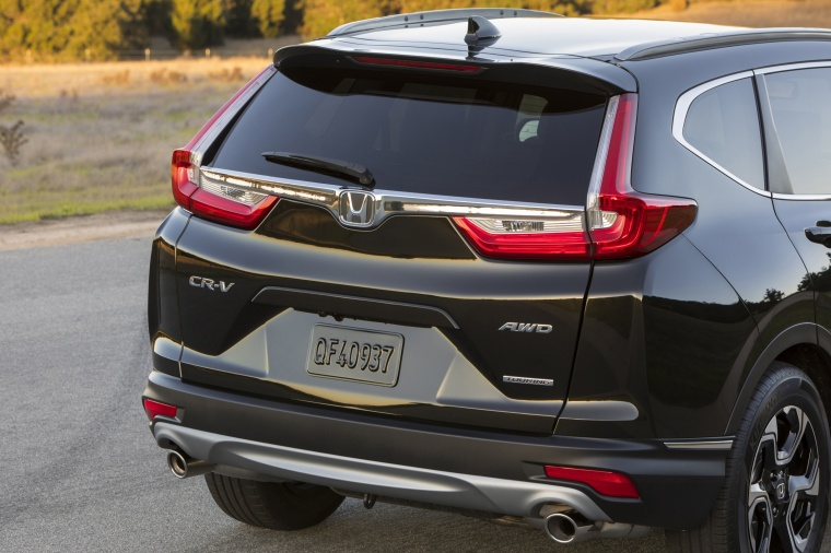2018 Honda CR-V Touring AWD Rear Fascia Picture
