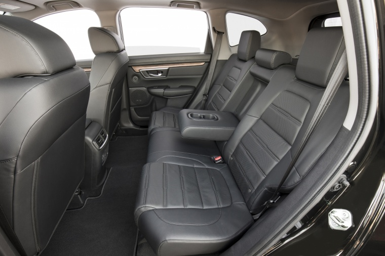 2018 Honda CR-V Touring AWD Rear Seats with Center Armrest Picture
