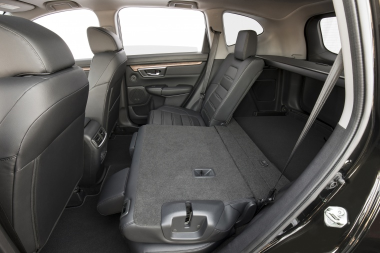 2018 Honda CR-V Touring AWD Rear Seats Folded Picture