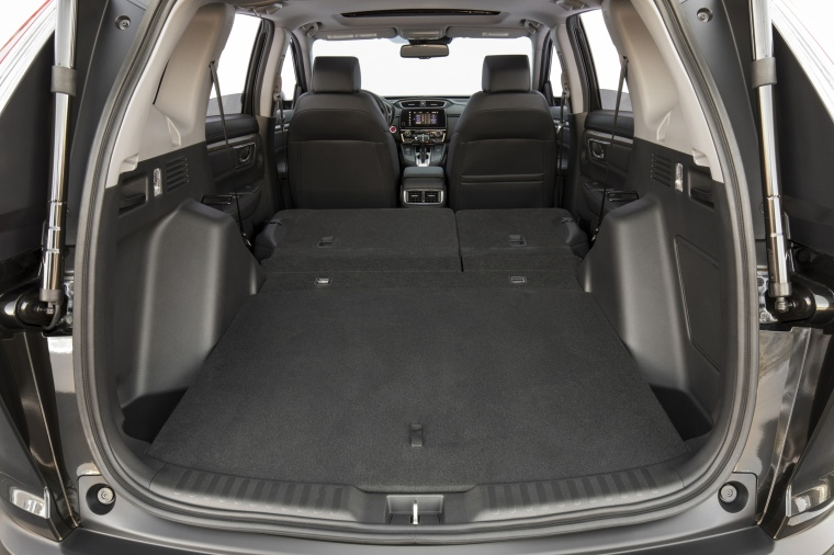 2018 Honda CR-V Touring AWD Trunk with Rear Seats Folded Picture