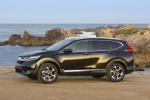 2018 Honda CR-V Touring AWD in Crystal Black Pearl - Static Left Side View