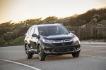 2018 Honda CR-V Touring AWD in Crystal Black Pearl - Driving Front Right View