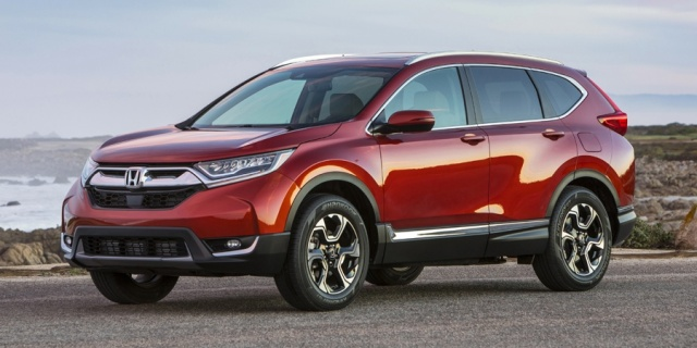 2018 Honda CR-V Pictures