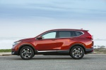 Picture of a 2019 Honda CR-V Touring AWD in Molten Lava Pearl from a side perspective