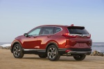 2019 Honda CR-V Touring AWD in Molten Lava Pearl - Static Rear Left View