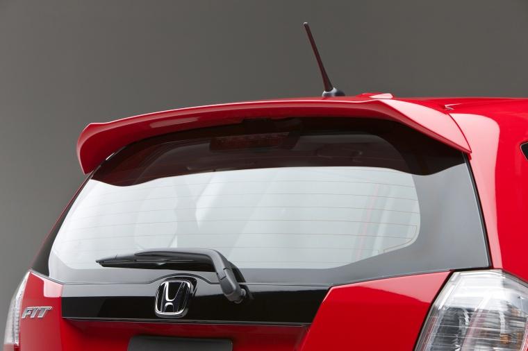2011 Honda Fit Sport Rear Spoiler Picture