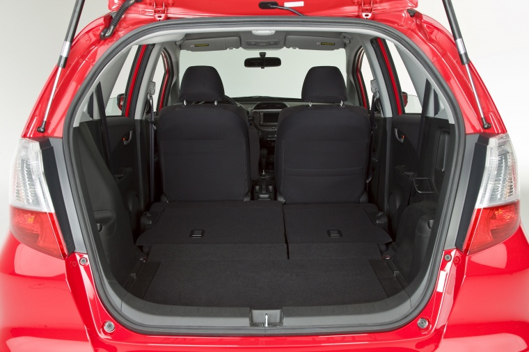2011 Honda Fit Sport Trunk Picture