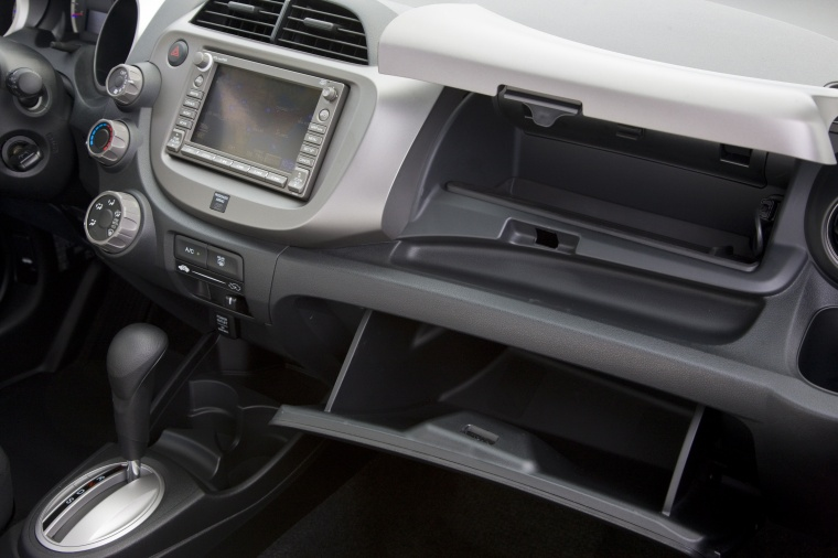 2011 Honda Fit Sport Glove Box Picture