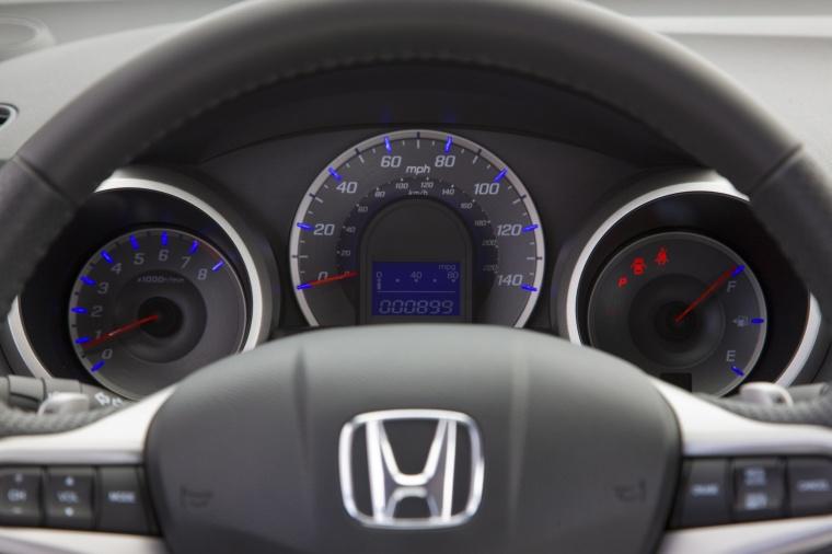 2011 Honda Fit Sport Gauges Picture