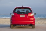 2012 Honda Fit Sport in Milano Red - Static Rear View