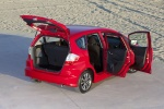 2013 Honda Fit Sport in Milano Red - Static Rear Right Top View