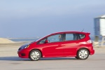 2013 Honda Fit Sport in Milano Red - Driving Side View