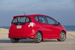 2013 Honda Fit Sport in Milano Red - Static Rear Right View