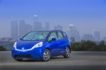 2013 Honda Fit EV in Reflection Blue Pearl - Status Front Left View