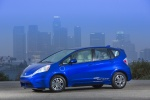 2013 Honda Fit EV in Reflection Blue Pearl - Status Front Left Three-quarter View