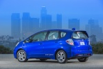 2013 Honda Fit EV in Reflection Blue Pearl - Status Rear Left Three-quarter View