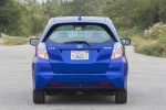 2013 Honda Fit EV in Reflection Blue Pearl - Status Rear View