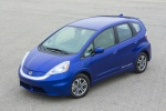 2013 Honda Fit EV in Reflection Blue Pearl - Status Front Left Top View