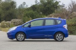 2013 Honda Fit EV in Reflection Blue Pearl - Status Side View
