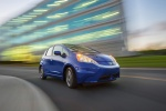 2013 Honda Fit EV in Reflection Blue Pearl - Driving Front Right Three-quarter View