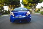 2013 Honda Fit EV in Reflection Blue Pearl - Driving Frontal View