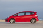 2013 Honda Fit Sport in Milano Red - Static Side View