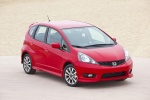 2013 Honda Fit Sport in Milano Red - Static Front Right Top View