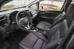 Picture of 2015 Honda Fit Front Seats in Black