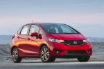 2015 Honda Fit in Milano Red - Static Front Right View