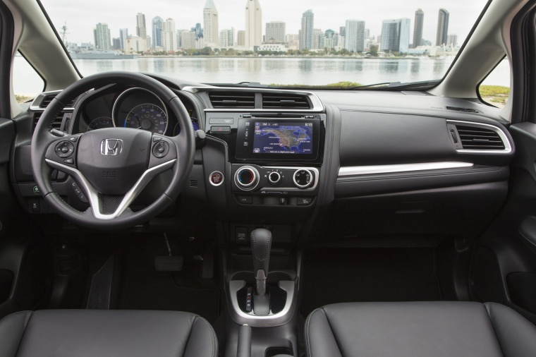 2017 Honda Fit Cockpit Picture