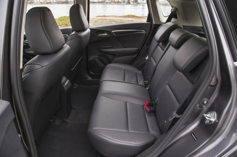 2017 Honda Fit Rear Seats Picture