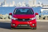 2017 Honda Fit in Milano Red from a frontal view