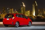 2017 Honda Fit in Milano Red - Static Rear Right View