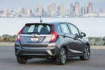 2017 Honda Fit in Modern Steel Metallic - Static Rear Right View