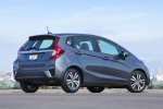 2017 Honda Fit in Modern Steel Metallic - Static Rear Right Three-quarter View
