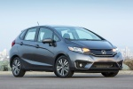 2017 Honda Fit in Modern Steel Metallic - Static Front Right Three-quarter View