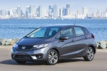 2017 Honda Fit in Modern Steel Metallic - Static Front Left Three-quarter View