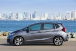 2017 Honda Fit in Modern Steel Metallic - Static Side View