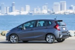 2017 Honda Fit in Modern Steel Metallic - Static Rear Left Three-quarter View