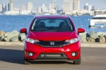 2017 Honda Fit in Milano Red - Static Frontal View